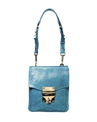 Leather bag, Alexis Hudson