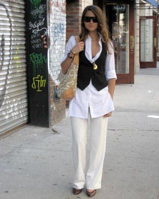 New York street chic, fashion