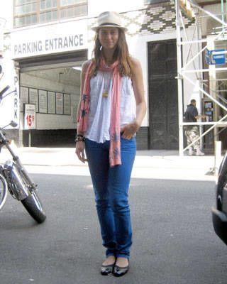 New York street chic, fashion