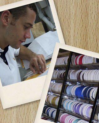 Examining the ribbon selection