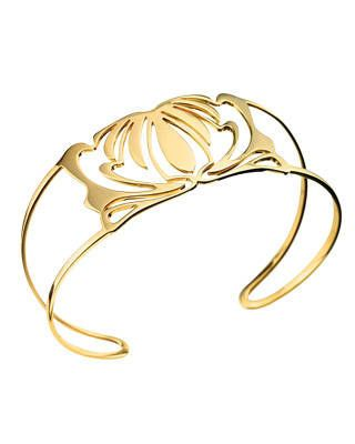Nessa by Vanessa Mimran yellow gold cuff