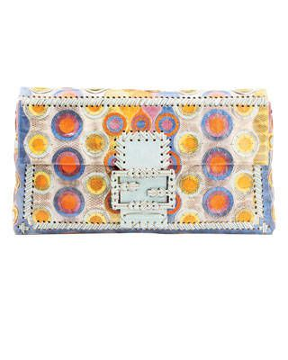 Fendi Snakeskin Clutch
