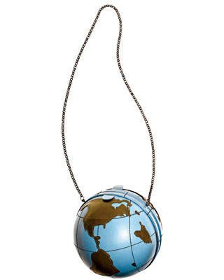 Moschino Cheap and Chic Leather Globe Bag