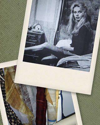 Gueron's muse, Brigitte Bardot