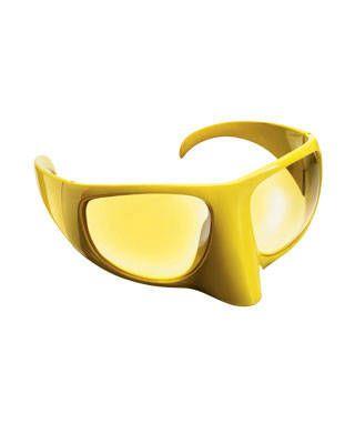 Bernard Willhelm for Linda Farrow mask glasses