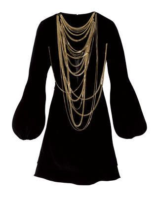 Givenchy crepe v-neck dress