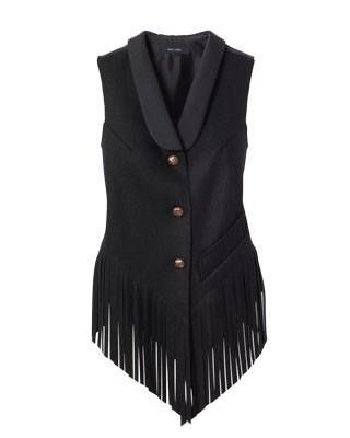 Karen Walker wool flannel waistcoat