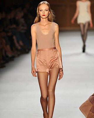 Paris fashion trends, Nina Ricci, Spring 2009