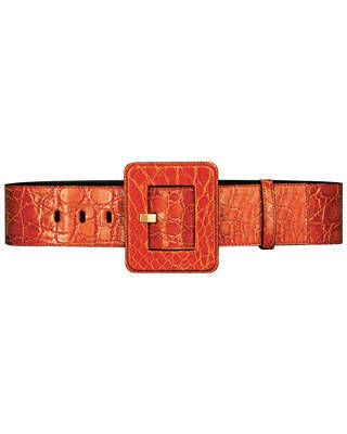 Buckle belt, Yves Saint Laurent