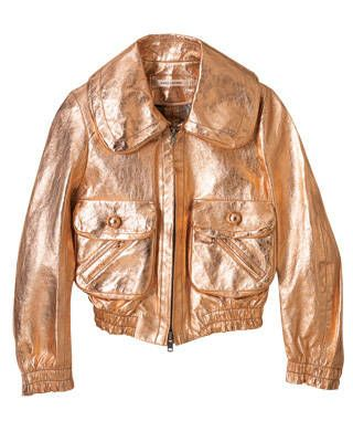 Leather jacket, Marc Jacobs