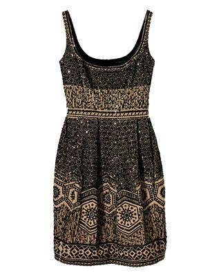 Cotton-blend dress, Elie Tahari
