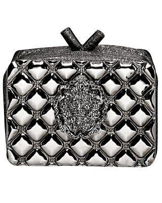 Crystal-and-metallic-lambskin clutch, Chanel Paris Monte Carlo Collection