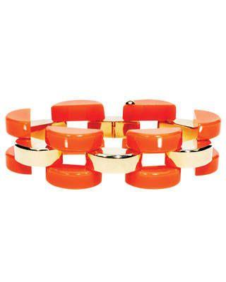 Bakelite link bracelet, Mark Davis, price upon request