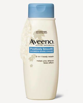 Aveeno Active Naturals Positively Smooth Shower & Shave Cream
