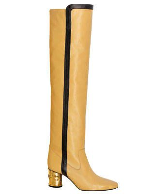 Lambskin boot, Chanel