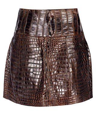 Crocodile skirt, Vera Wang