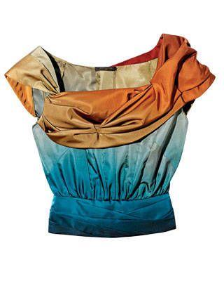 Silk-radzimir top, Louis Vuitton