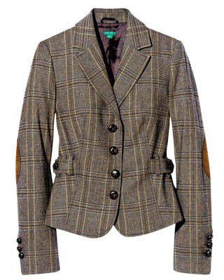 Plaid blazer, United Colors of Benetton