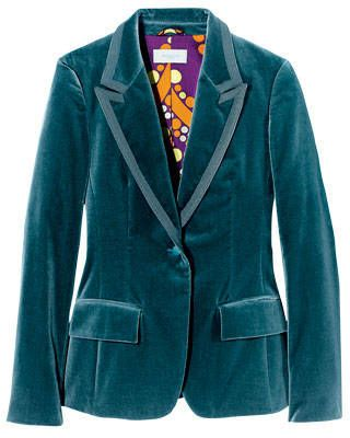 Velvet jacket, Emilio Pucci