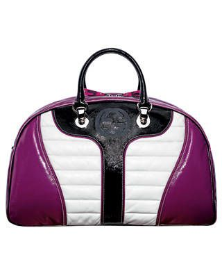 Patent leather bag, Gucci