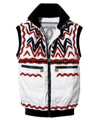 Canvas vest, Chanel