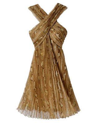 Chiffon dress by Dior