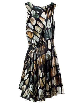 Silk dress by Hussein Chalayan