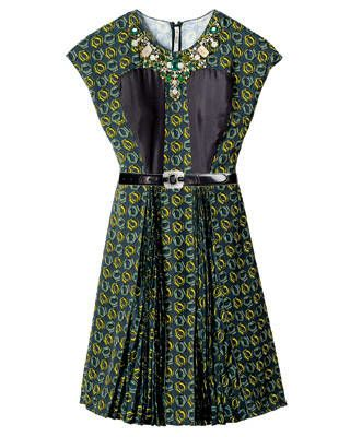 Prada dress and belt