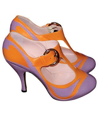 Luella Bartley shoe collaboration with Georgina Goodman