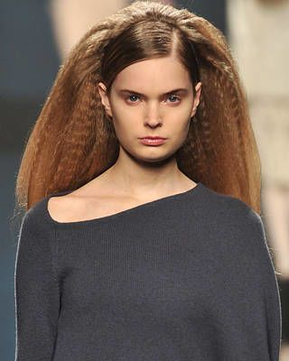 Anteprima Fall Fashion Week Hairstyle