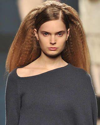 Anteprima Fall Fashion Week Hairstyle