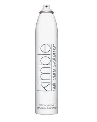 Kimble Hair Care Systems Retrospective Workable Hairspray