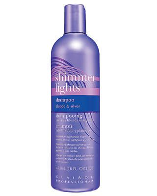 Clairol Professional Shimmer Lights Shampoo in Blonde & Silver