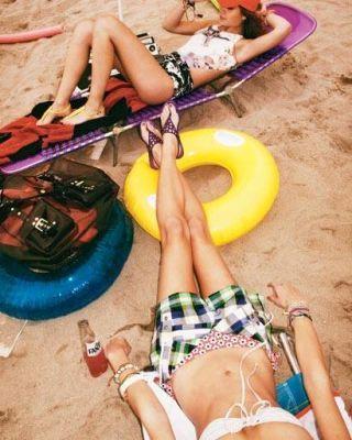 Summer fashion - Versace nylon swimsuit