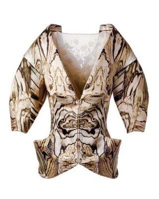 Fashion trend - Alexander McQueen Silk Jacket