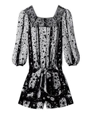 fashion trend - Anna Sui silk romper