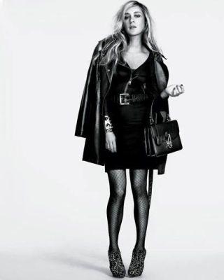 Chloë Sevigny in '80s fashion