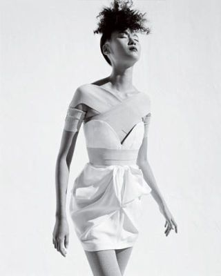 fashion trend - Stella McCartney silk shantung dress