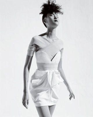 fashion trend - Stella McCartney silk shantung dress