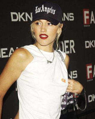 Gwen Stefani at a 2003 Duran Duran show at LA club The Roxy