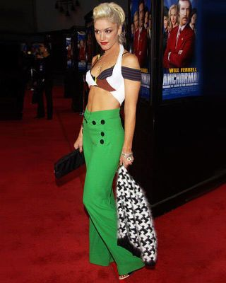 Gwen Stefani at the Anchorman premiere in 2004