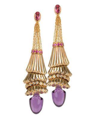 fall fashion - Boucheron earrings