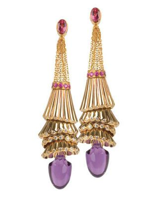 fall fashion - Boucheron earrings