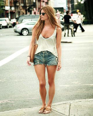 Street Chic - Jean Shorts