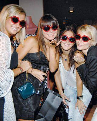 Partygoers