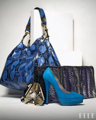 Blue, Product, High heels, Bag, Style, Electric blue, Fashion accessory, Aqua, Teal, Shoulder bag,