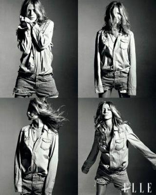 Jennifer Aniston ELLE September 2009 cover shoot