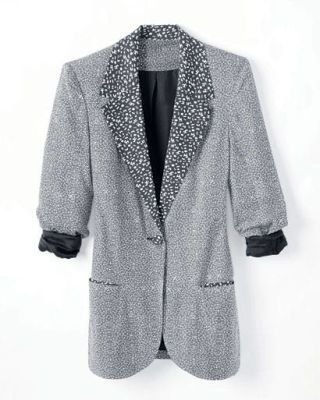 fall fashion - Kimchi Blue rayon blazer