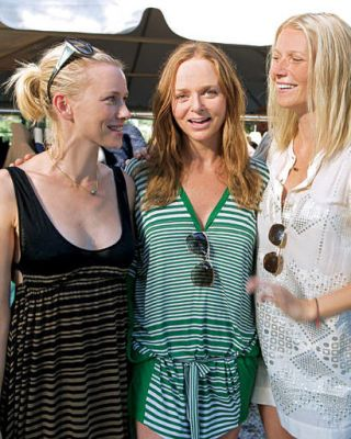 Naomi Watts, Stella McCartney and Gwyneth Paltrow
