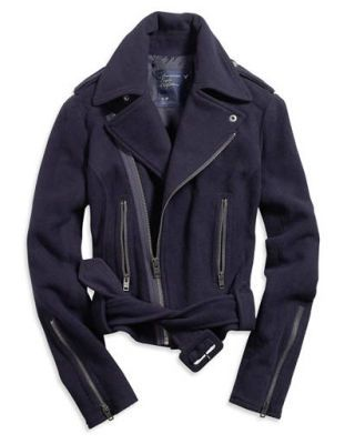 Shop Chic - American Eagle wool bomber jacket